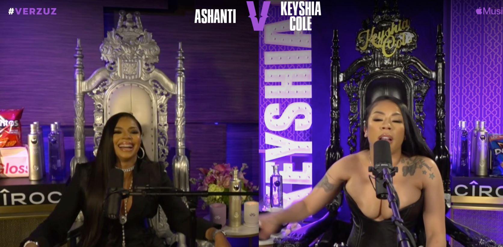 Watch: Ashanti vs Keyshia Cole #VERZUZ Battle [Full ...