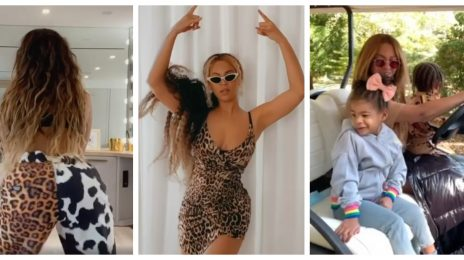 Beyonce Salutes The #BeyHive With New Year's Message & 'Savage' Video Clips