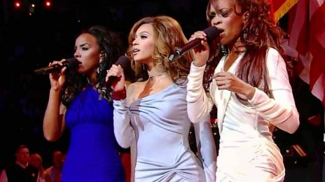 From The Vault: Destiny's Child Soar With US National Anthem At NBA All Star Game 2006
