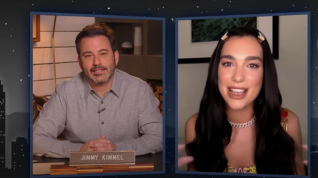 Watch:  Dua Lipa Denies Pregnancy Rumors, Talks 2021 GRAMMY Nominations, & More with 'Kimmel'