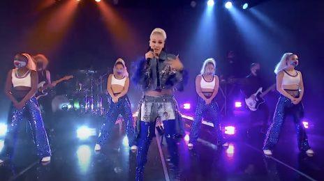 Gwen Stefani Performs 'Let Me Reintroduce Myself' On 'Fallon, Talks No Doubt Reunion & Wedding Proposal