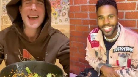 Jason Derulo & Adam Levine Tease Duet 'Lifestyle'