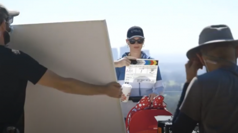 Behind the Scenes:  Katy Perry's 'Not the End of the World' Music Video [Watch]