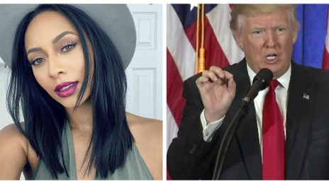 """Keri Hilson Questions Donald Trump's Twitter Ban: """"Democracy Must Include Freedom Of Speech"""""""