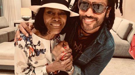 "Lenny Kravitz Pays Impassioned Tribute To ""Godmother"" Cicely Tyson"