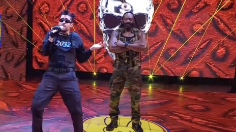 Watch: Bad Bunny Rocks WWE Royal Rumble With 'Booker T' Performance & In-Ring Action