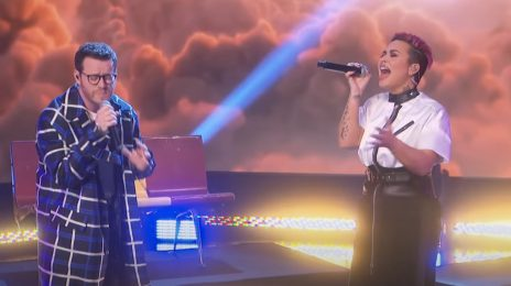 Demi Lovato & Sam Fischer Perform 'What Other People Say' On 'Ellen'