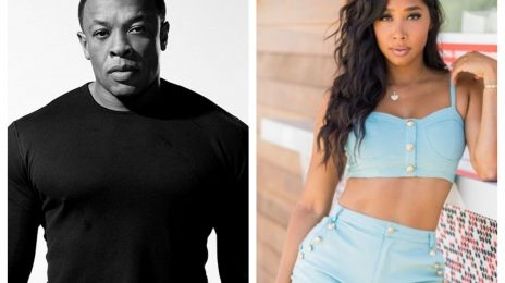 Dr. Dre Spotted Out With Omarion's Ex Apryl Jones, Allegedly On A Date Night [Video]