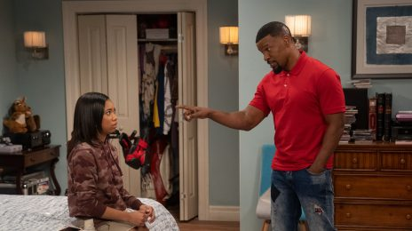 First Look: Jamie Foxx Returns To Sitcom Arena In New Netflix Show 'Dad Stop Embarrassing Me!'