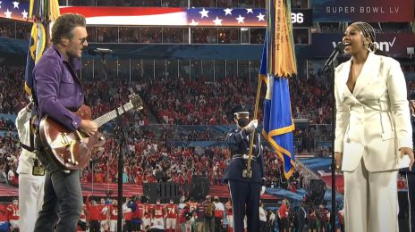 Jazmine Sullivan Soars With The US National Anthem At The Super Bowl 2021