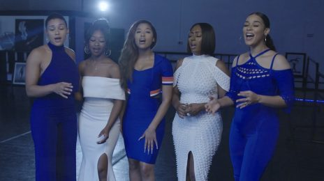 Watch: June's Diary Wow With US National Anthem At Clippers vs Celtics Game