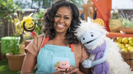 Michelle Obama Unveils First Look At New Netflix Series 'Waffles + Mochi'