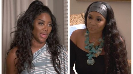 Kenya Moore & Marlo Hampton FINALLY Mend Fences In Emotional 'RHOA' Preview