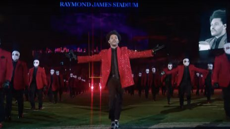 Watch:  The Weeknd Rocks the Super Bowl LV Halftime Show