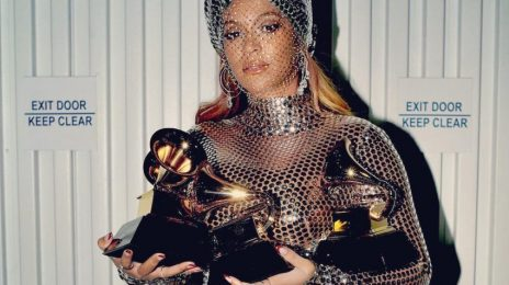 Beyonce Stuns As She Celebrates Historic #GRAMMYs Success