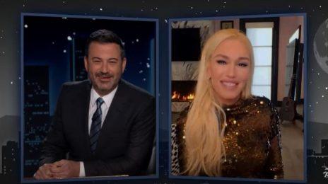 Gwen Stefani Talks New Music, Next No Doubt Reunion, & More with 'Kimmel' & 'Ellen'