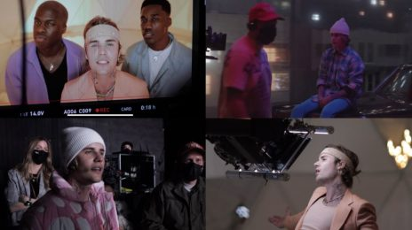 Behind the Scenes:  Justin Bieber, Giveon, and Daniel Caesar's 'Peaches' Music Video [Watch]