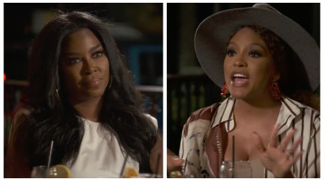 Kenya Moore & Drew Sidora Have Sing-Off Mid-Argument In New 'RHOA' Preview