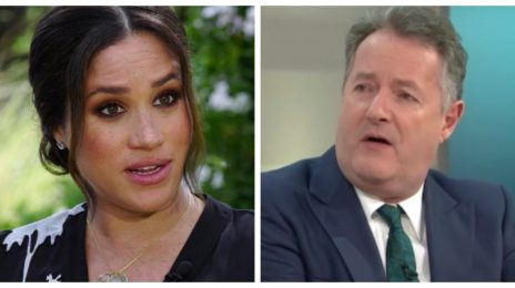"Report: Meghan Markle Filed ITV Complaint Against Piers Morgan Before Controversial Host ""Left"" TV Role"