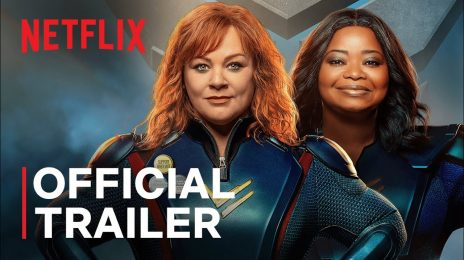 Movie Trailer:  Netflix's 'Thunder Force' [starring Melissa McCarthy & Octavia Spencer]