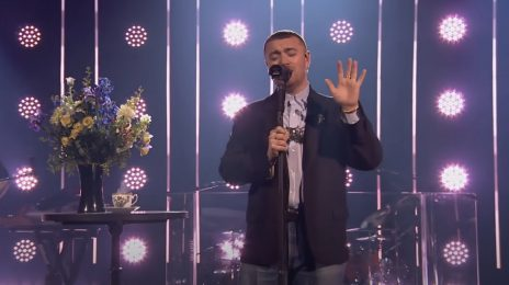 Sam Smith Performs 'Kids Again' On 'Corden' [Video]