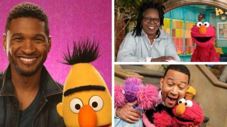 Usher, John Legend, & Whoopi Goldberg Among Stars Tapped for 'Sesame Street' 50th Anniversary TV Special