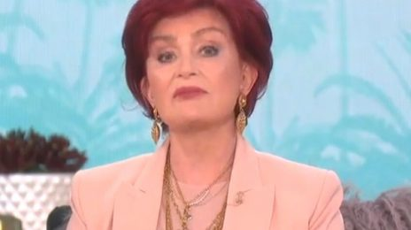 "Sharon Osbourne Leaves 'The Talk' / CBS Says Her Conduct During Race Debate Did Not ""Align With Our Values For A Respectful Workplace"""