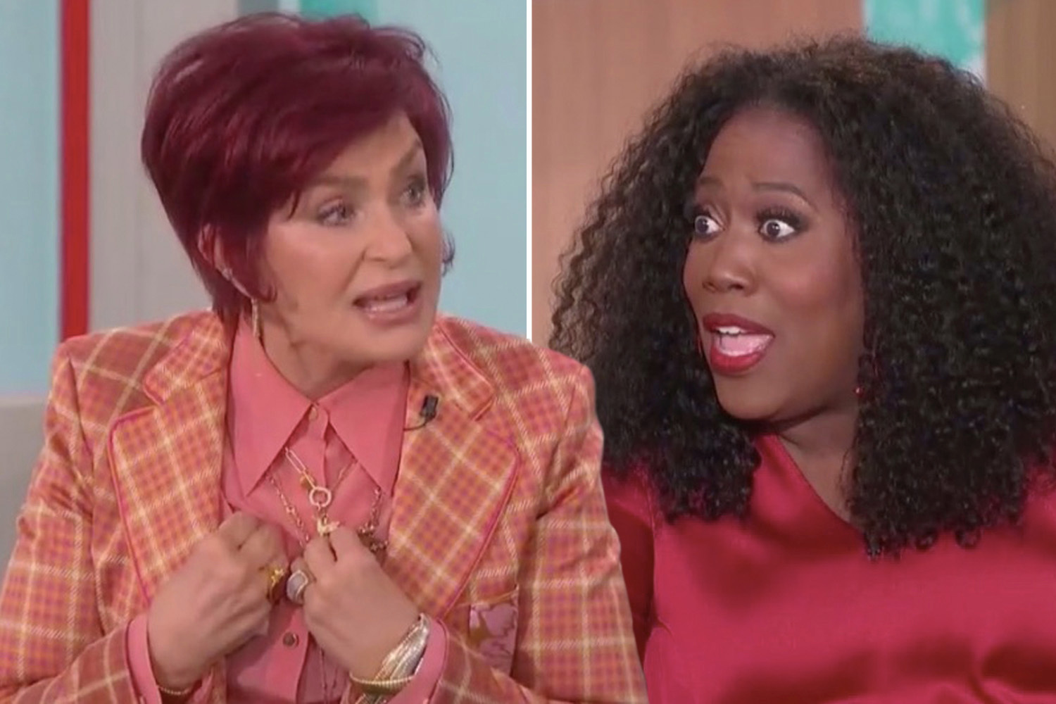 Sharon Osbourne Apologizes To The Black Community After Explosive Outburst During Race Debate Fuelled By Her Support Of Piers Morgan That Grape Juice