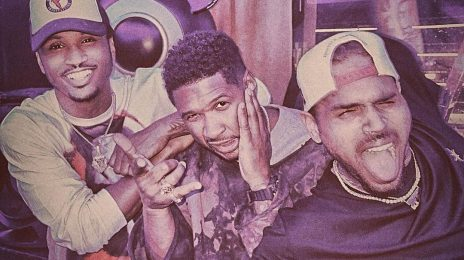 Usher, Chris Brown, & Trey Songz Spark Collaboration Speculation