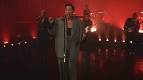 Demi Lovato Performs 'Dancing With The Devil' On 'Fallon,' Talks Working With Ariana Grande