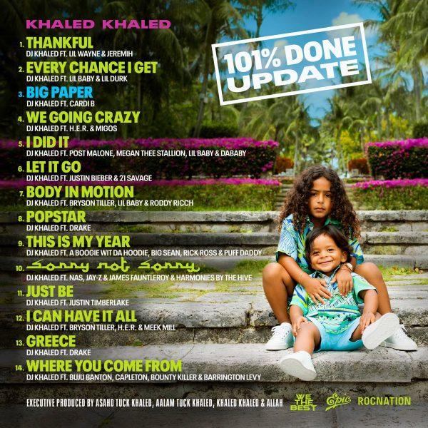 DJ Khaled Announces Cardi B As Last-Minute Addition To 'Khaled Khaled'  Album - That Grape Juice