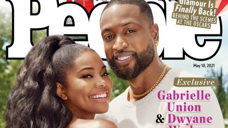 """Gabrielle Union & Dwayne Wade Cover PEOPLE / Dish On New Book 'Shady Baby' & Raising """"Authentic"""" Kids"""