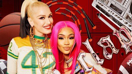 Gwen Stefani Enlists Saweetie For 'Slow Clap' Remix