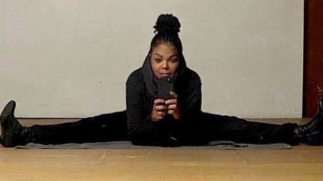 Janet Jackson Teases Comeback With Splits Pic