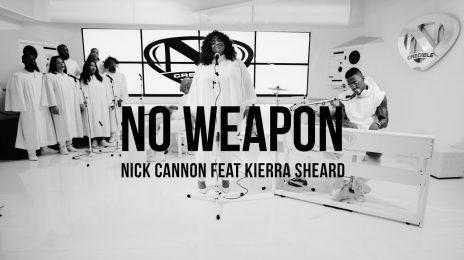 New Video:  Nick Cannon - 'No Weapon' (featuring Kierra Sheard)