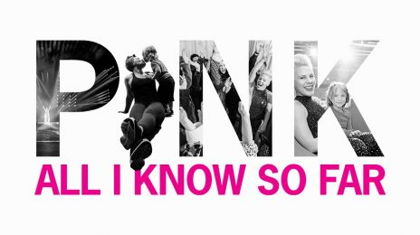 New Song:  P!nk - 'All I Know So Far'