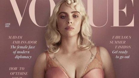 Billie Eilish Transforms On The Cover Of British Vogue