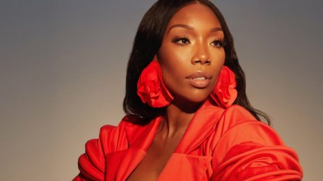 Brandy Blazes In Photoshoot Ahead Of New Music