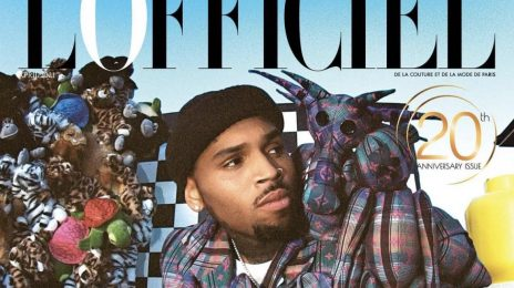 Chris Brown Covers L'Officiel India's 20th Anniversary Issue