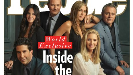 'Friends' Cast Reunite On Cover Of PEOPLE Ahead Of HBO Max Special