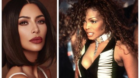 Kim Kardashian Buys Janet Jackson's Iconic 'If' Music Video Outfit In Action-Packed Auction