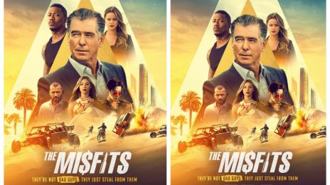 Movie Trailer:  'The Misfits' [starring Pierce Brosnan, Nick Cannon]