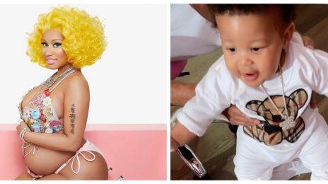 Nicki Minaj Shares Adorable Video Of Her Baby Son