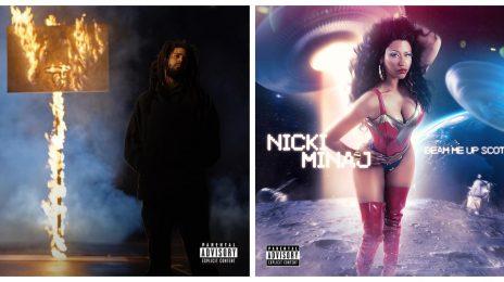 Chart Check [Billboard 200]:  Nicki Minaj & J. Cole Make Historic Debuts with 'Beam Me Up Scotty' & 'The Off-Season'