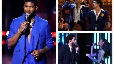 Performances: 2021 iHeartRadio Music Awards [Usher, Bruno Mars, The Weeknd, Ariana Grande, & More]