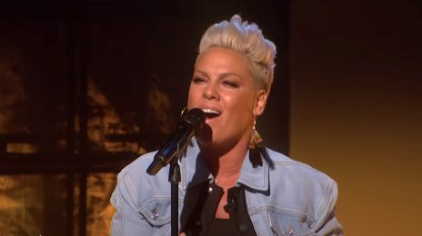 Pink Performs 'All I Know So Far' & Talks New Documentary On 'Ellen'