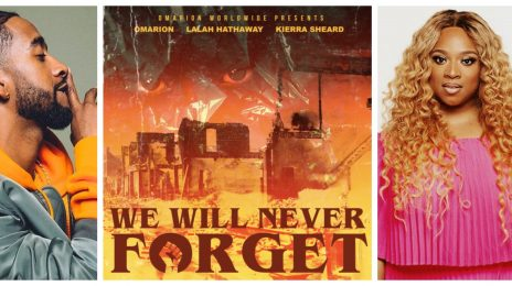New Song:  Omarion - 'We Will Never Forget' (featuring Kierra Sheard & Lalah Hathaway)