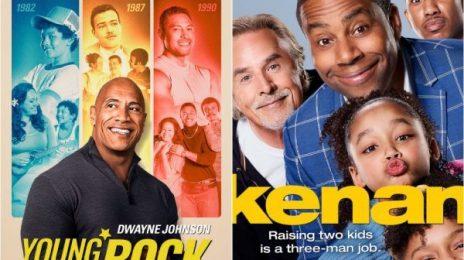 'Young Rock' & 'Kenan' Both Renewed For Season 2 At NBC