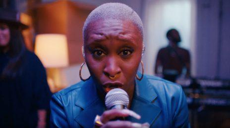 Watch:  Cynthia Erivo Debuts 'Good' New Single Live on 'The Late Show'