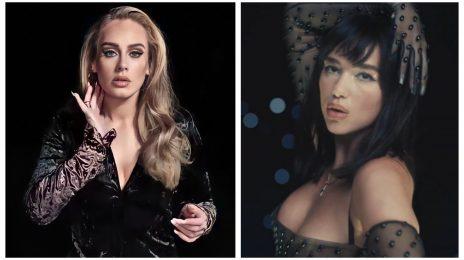 Dua Lipa Breaks Adele Hot 100 Record As 'Levitating' Nabs 22nd Week in Top 10